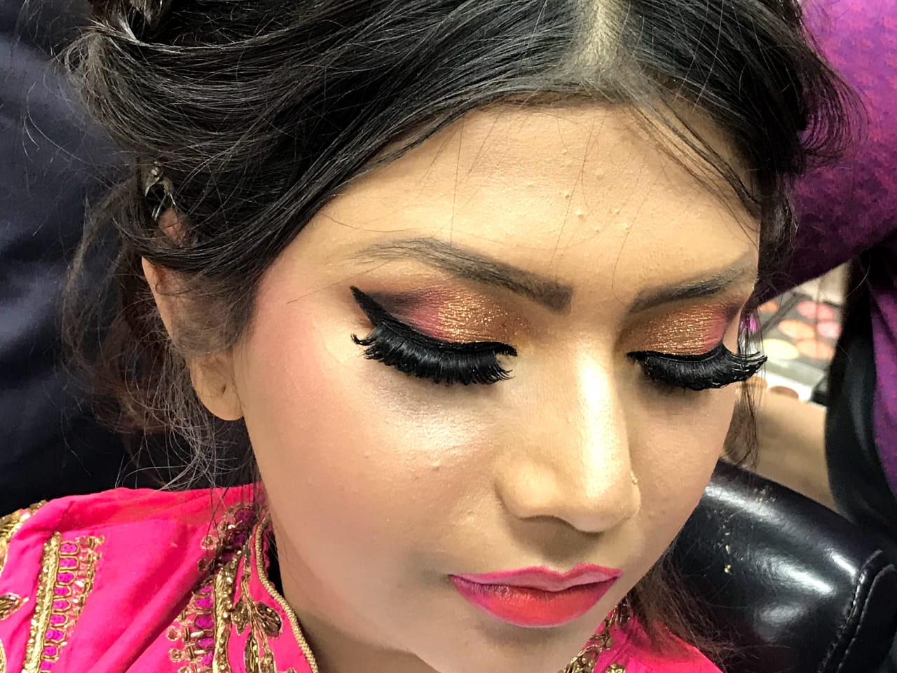 makeup by Isha