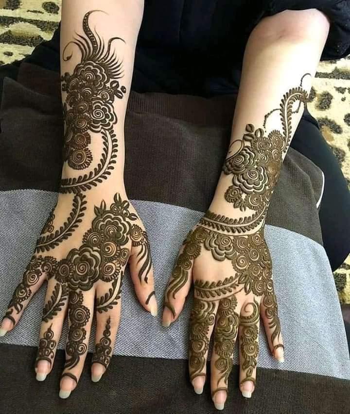 Ganesh mehandi art
