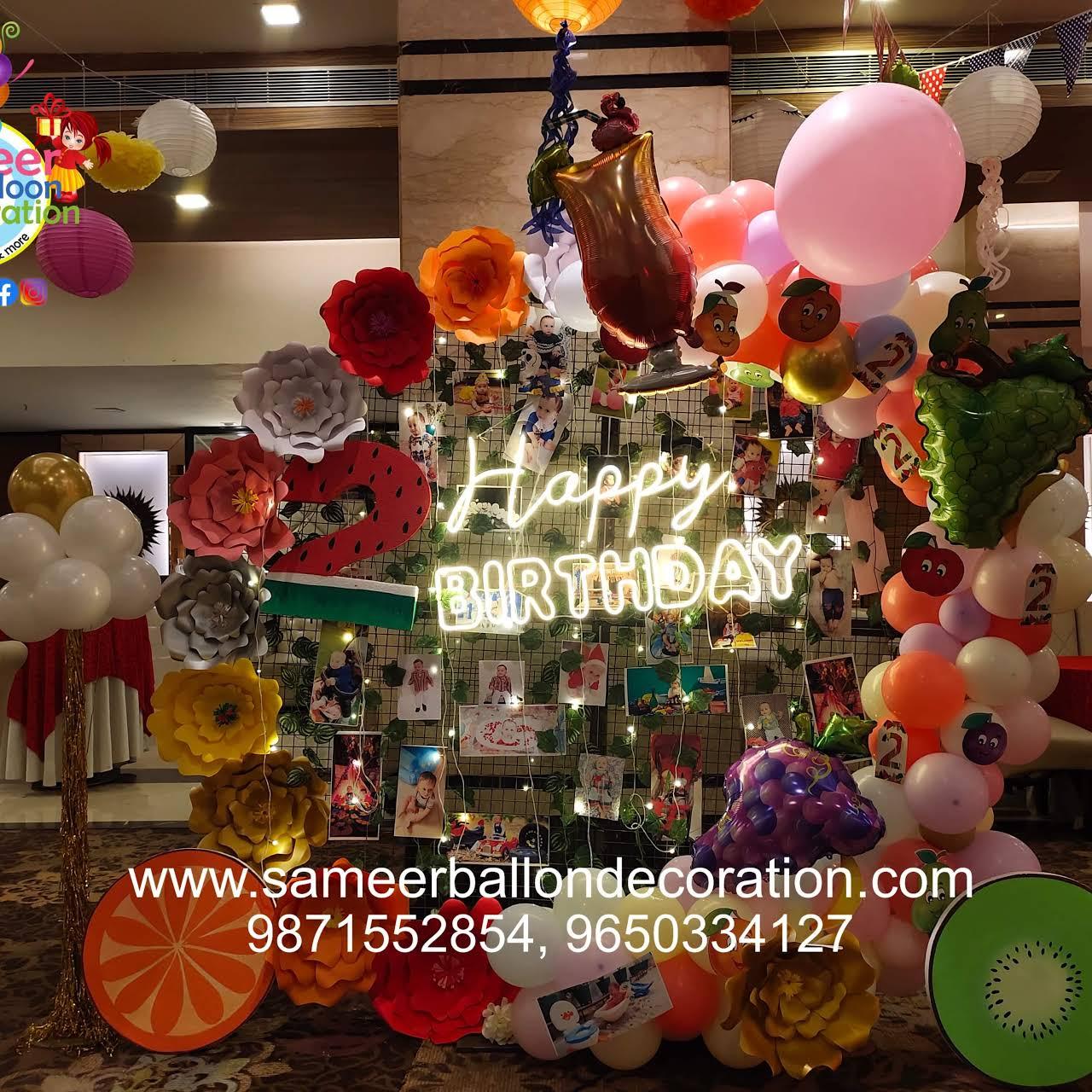 Sameer Balloon Decoration
