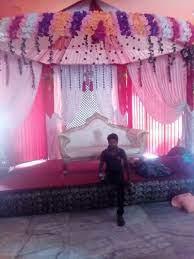 Raja Flower Tent Decoration Thakedar