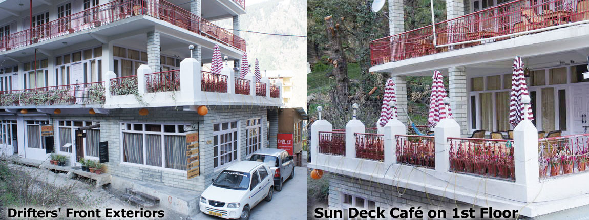 Drifters' Inn & Cafe- BAR Restaurant in Manu Temple Road Manali