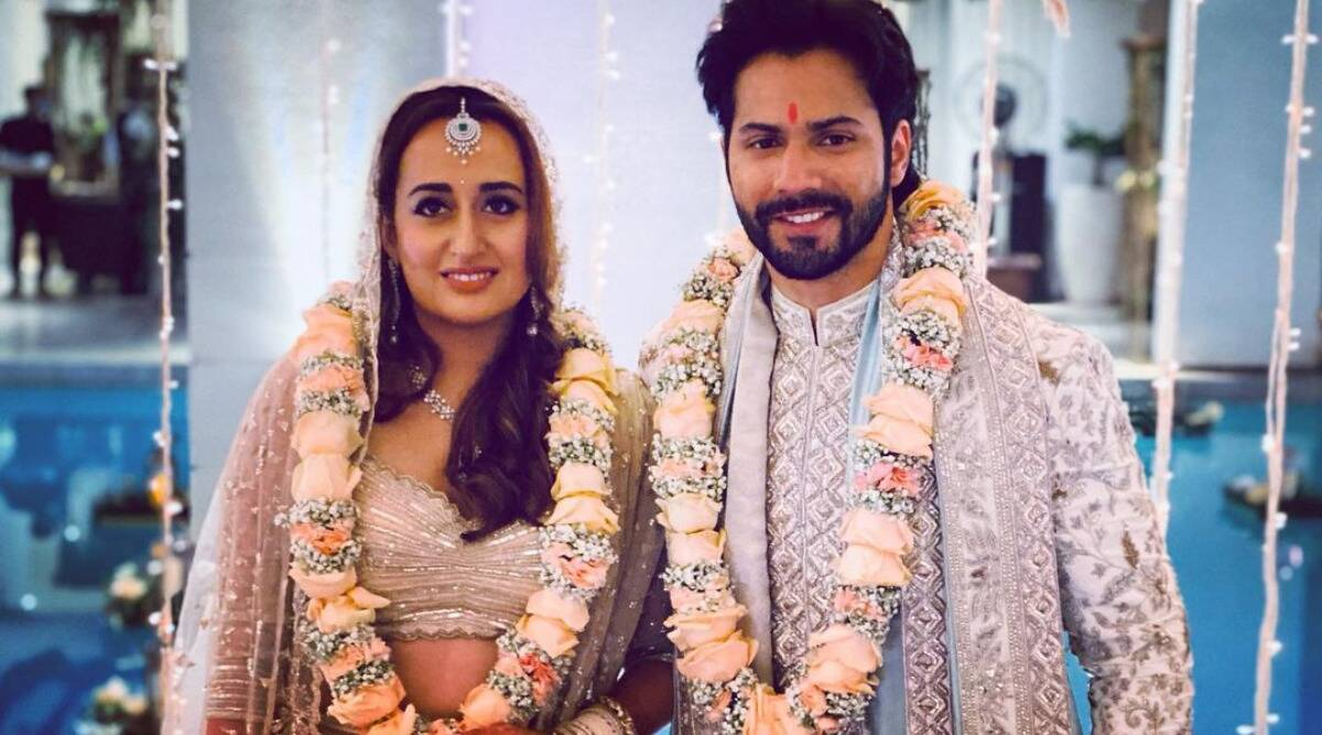 Varun Dhawan And Natasha Dalal Beam With Happiness In
