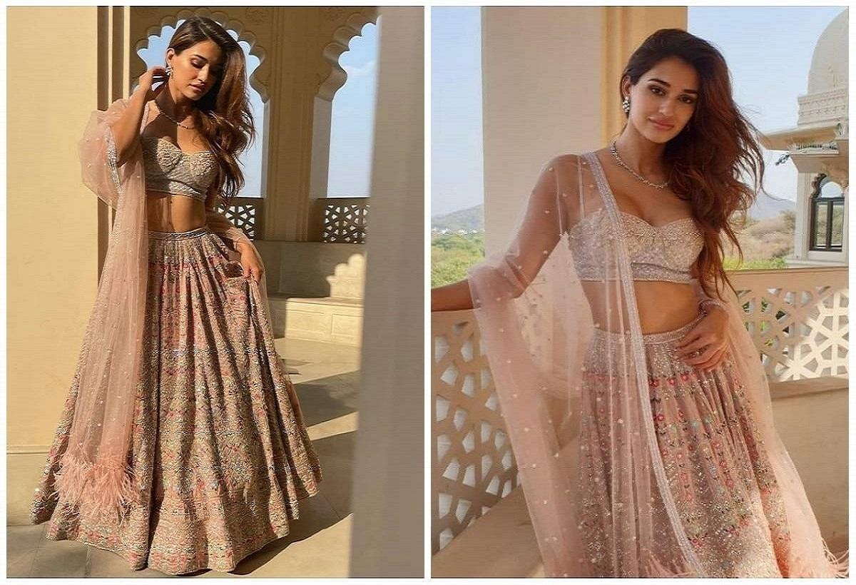 Disha Patani in Bridesmaid look