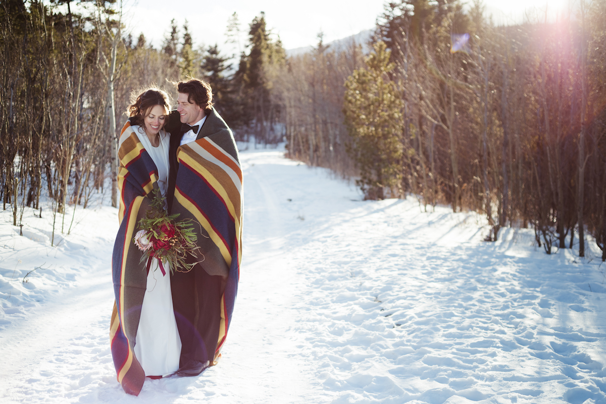 winter wedding preparations